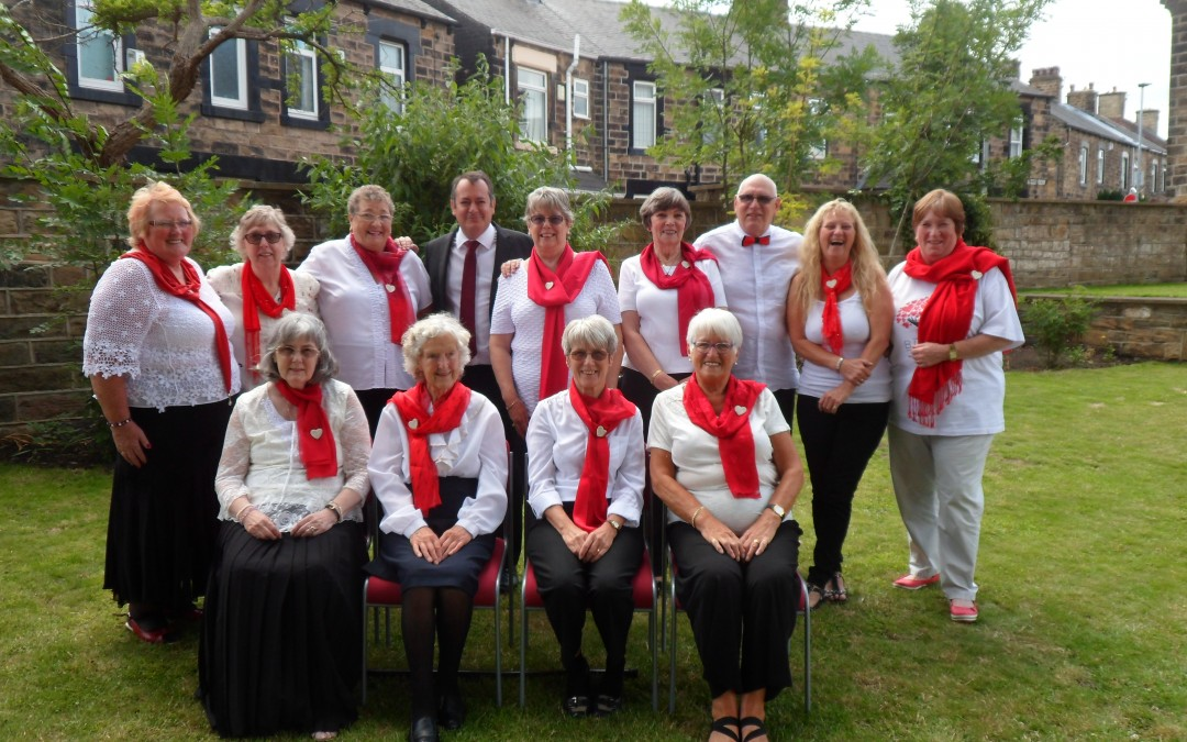 Friday drop in café ladies raise £3,613