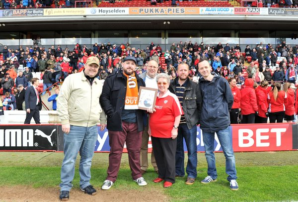 A big thankyou to Barnsley FC and fans