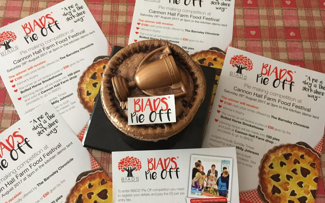 BIADS' Pie Off – details & rules of entry