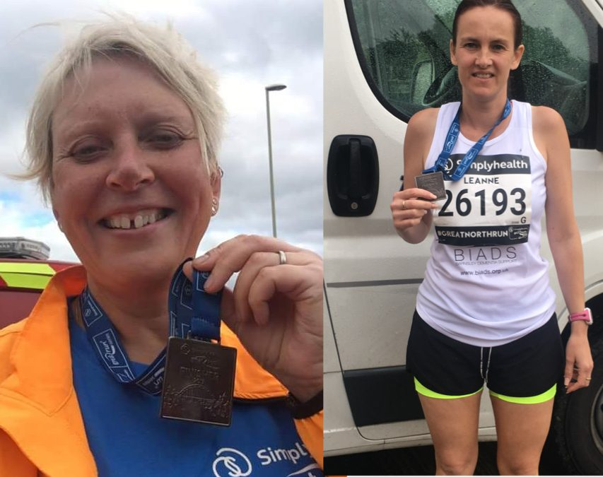 Katie and Leanne are runaway success at raising funds