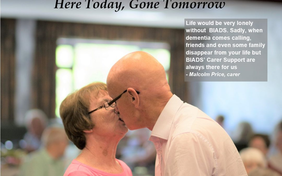 Here Today, Gone Tomorrow appeal to keep Carer Support Service
