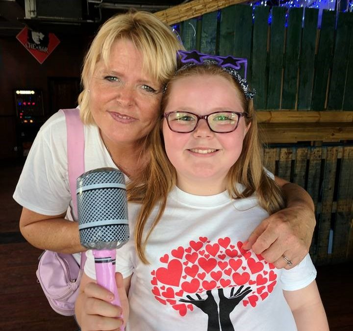 Rhianna is our star fund raiser for LIVE in Barnsley
