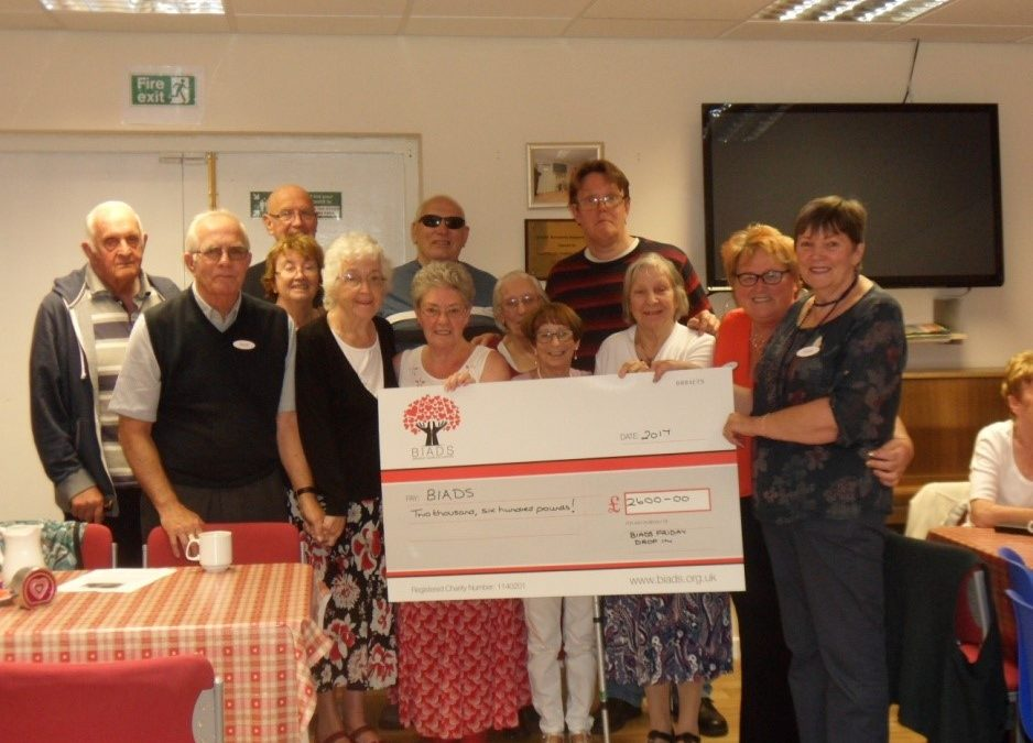 Fabulous Friday drop in raises £2,600