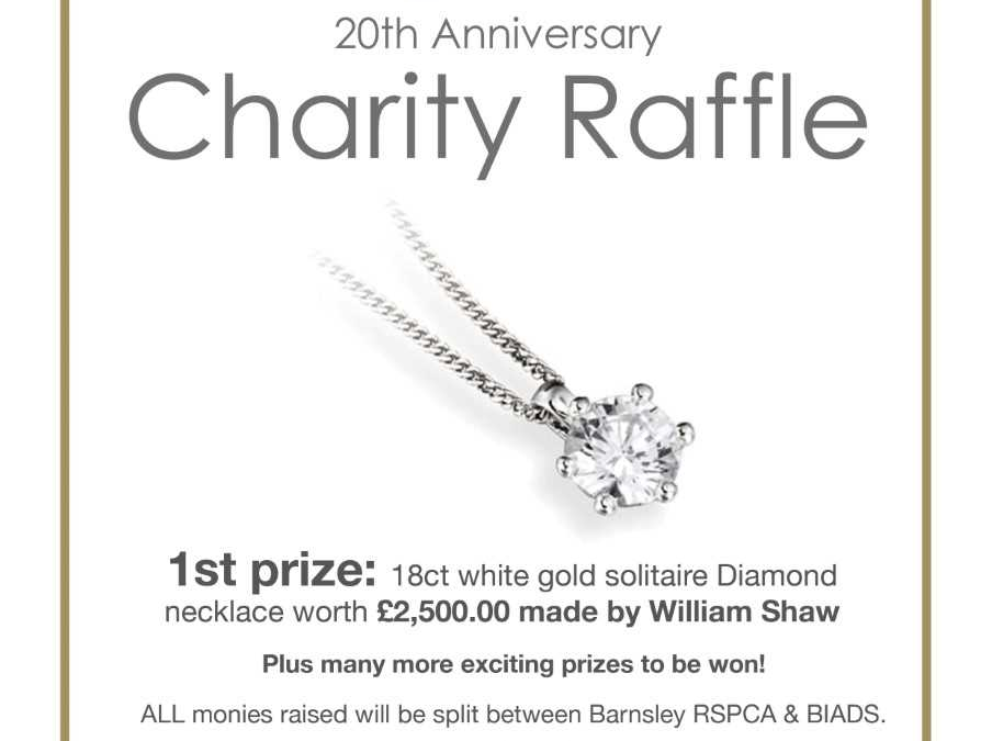 A sparkling opportunity to win a diamond pendant!